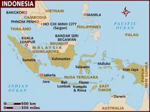 χαρτης ινδονησιας